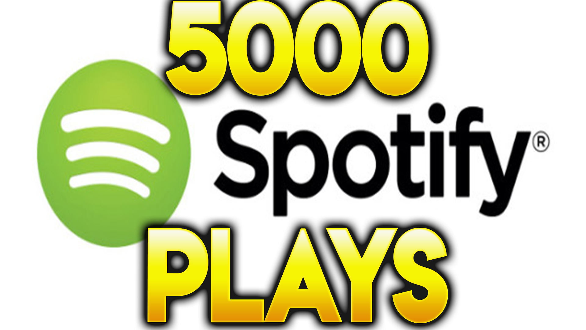I will provide 5000 high quality Spotify plays - Gigsdy