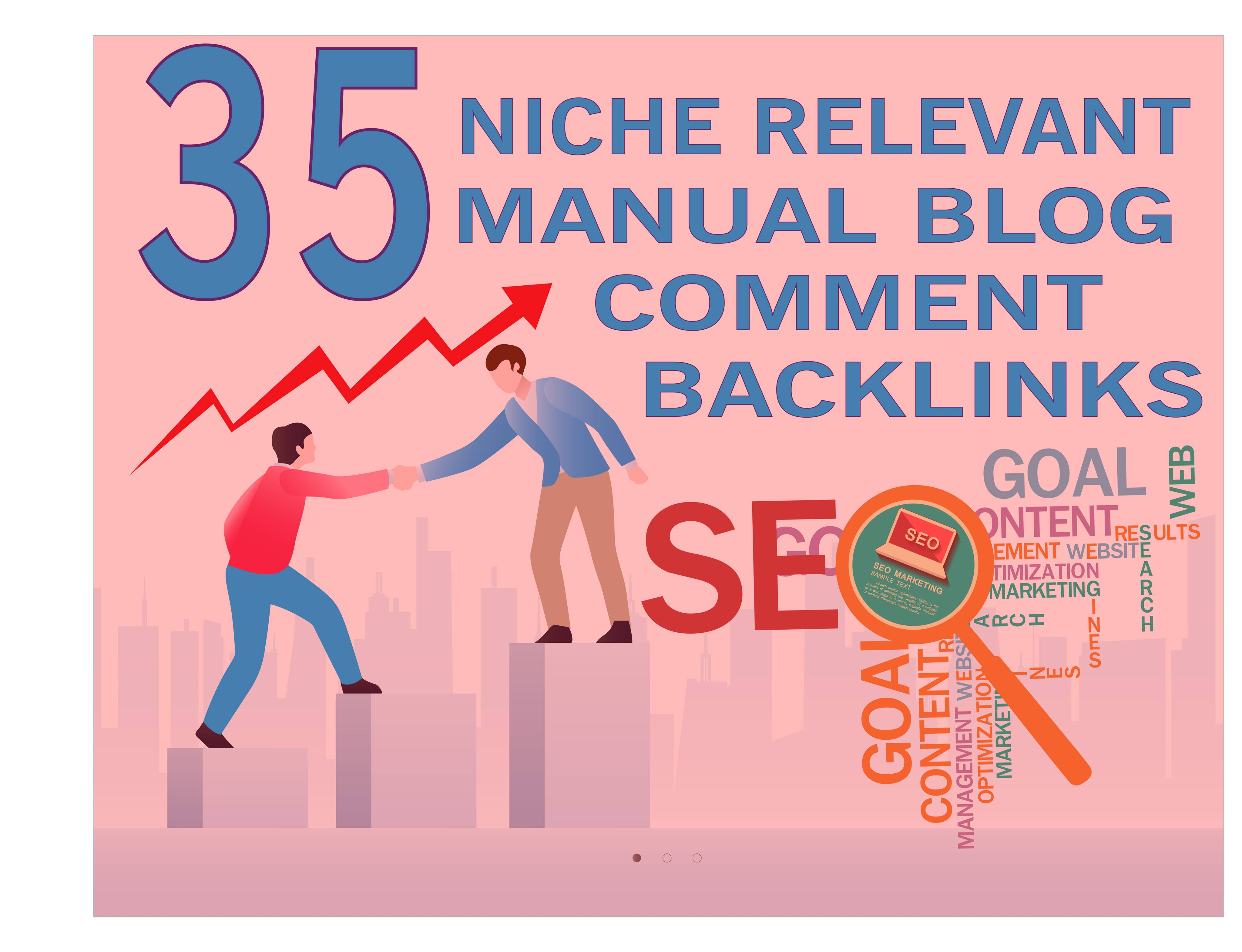 Give 30 Dofollow Manual Blog Comments Links Under 20 Obl - Gigsdy
